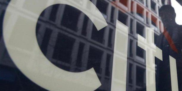 La banque Citygroup doit sa création à l'abrogation du Glass-Steagal Act, en 1999. | REUTERS