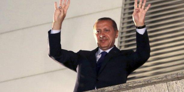 Le président turc, Recep Tayyip Erdoğan