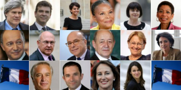 Manuel Valls à la tête d'une équipe ministérielle resserrée