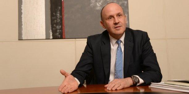 Raphaël Appert, directeur Crédit agricole Centre Est ©Laurent Cerino/Acteurs de l'économie