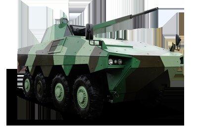 Le groupe français Renault Trucks Defense souhaite équiper le véhicule blindé russe Atom d'un moteur diesel de plus de 600 chevaux