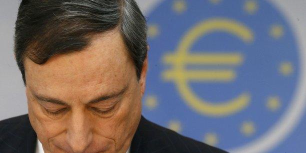 Difficile pour Mario Draghi de trouver une voie de sortie au risque déflationniste en Europe