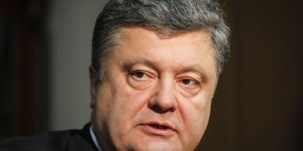 En décembre 2013, Petro Porochenko remerciait par ironie un haut conseiller du Kremlin d'avoir uni son pays.