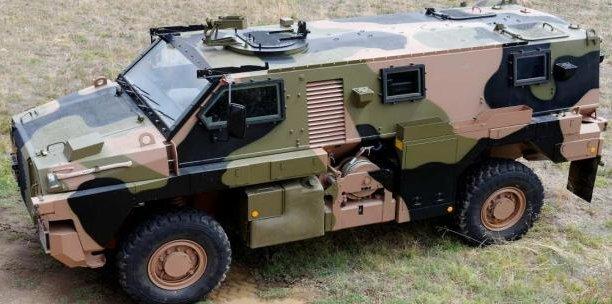 Déployé en Irak et en Afghanistan, le Bushmaster a été vendu à plus de 1.000 exemplaires, à l'Australie, aux Pays-Bas et à la Jamaïque, explique Thales. (Photo : Reuters)