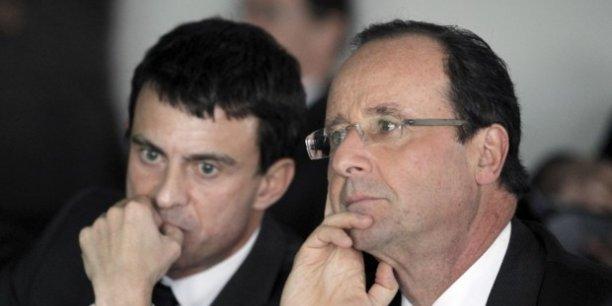 Le duo Valls-Holllande ne voit que deux outils pour résorber le chôma: la politique de formation et la politique de libéralisation