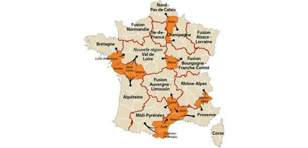 La réforme des collectivités territoriales devrait supprimer la moitié des régions existantes.