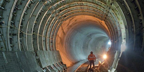 Le chantier de l'East Side Access, ligne de train qui reliera Long Island à Grand Central Terminal, est, en matière d'infrastructures, le plus gros aux États-Unis depuis 1950. / DR