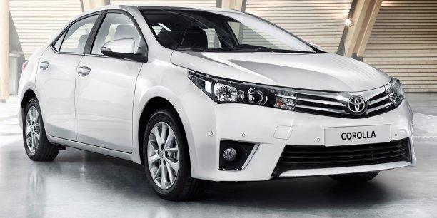Championne des ventes en 2013, la Corolla japonaise supplante la Ford Focus euro-américaine