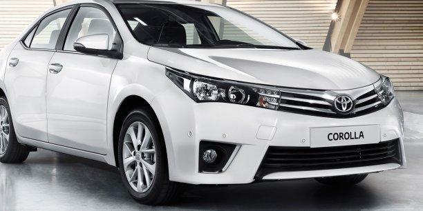 La Toyota Corolla actuelle constitue la onzième génération