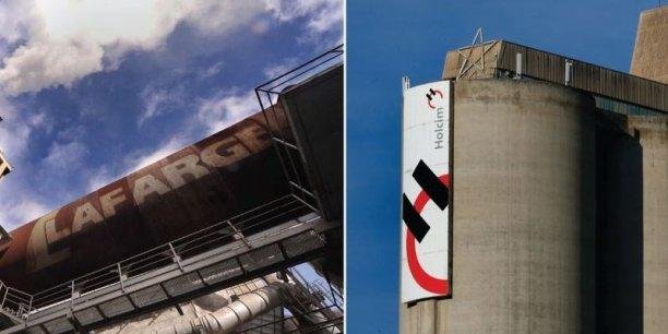 Lafarge et Holcim vont fusionner pour devenir le premier groupe de cimenterie du monde.