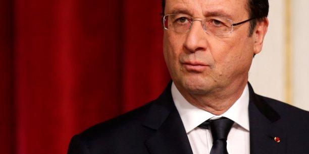 Hollande pilote lui-même le dossier sensible des 50 milliards d'économies. / DR