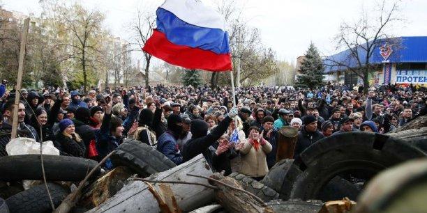 La tension est montée d'un cran dans l'Est de l'Ukraine