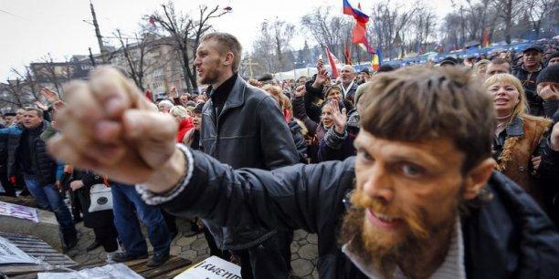 A l'ONU, Moscou est accusé de masser des forces près de l'Ukraine. / Reuters