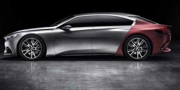 Concept Peugeot Exalt présenté au salon de Pékin