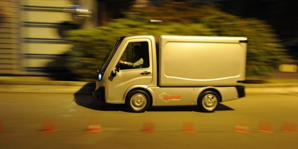 Cenntro Motors avait repris en juin l'activité véhicules électriques de SITL. Crédits photos : Laurent Cerino/Acteurs de l'économie