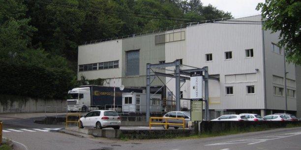L'usine ArjoWiggins de Charavines en Isère. DR