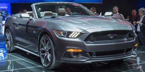 Le nouveau cabriolet Mustang arrivera aussi en Europe l'an prochain