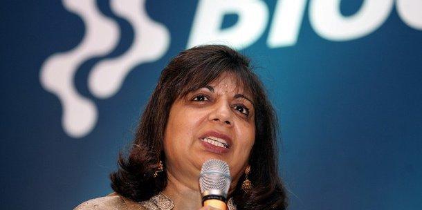 L'important, pour Kiran Mazumdar-Shaw, PDG de Biocon : « Que chaque citoyen indien puisse se soigner. » / DR
