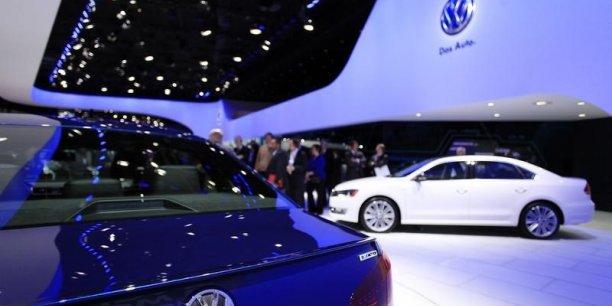 Volkswagen accroît ses ventes et profits