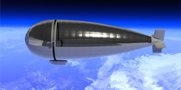 ballon dirigeable satellite