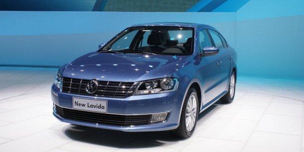 La Volkswagen Lavida est un modèle pour le marché chinois