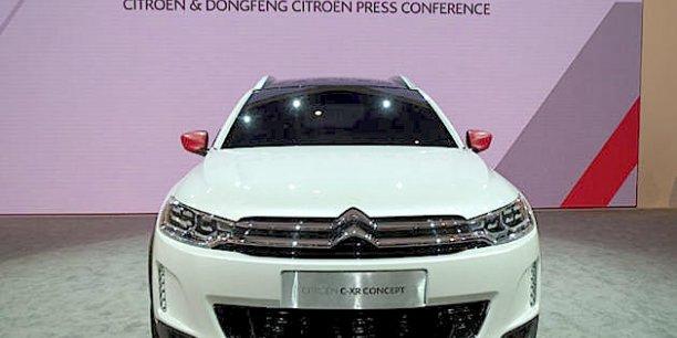 Le futur petit SUV chinois de Citroën, présenté au dernier salon de Pékin