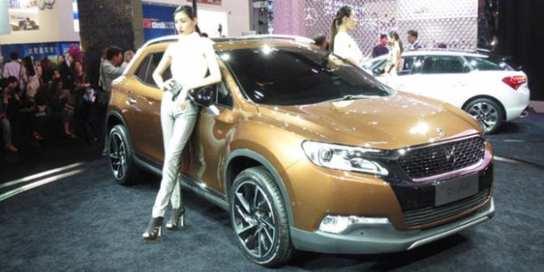 La DS 6WR sera commercialisée en Chine en septembre prochain. / DR