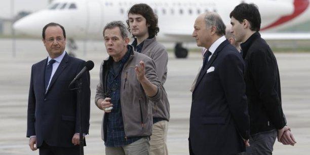 Selon des experts de l'Otan cités par Focus, les services de renseignement français auraient été informés du lieu de détention des quatre journalistes dès le début de la prise d'otage. (Photo : Reuters)
