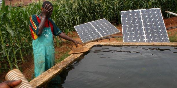 France Photon exporte des solutions solaires pour des sites isolés ©Jean-Claude Moschetti/Rea