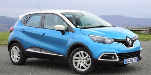 Le Renault Captur, marche à fond