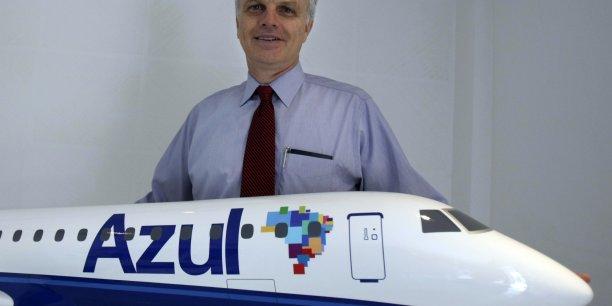 La compagnie brésilienne low-cost, créée par David Neeleman, veut des Airbus pour ses futurs liaisons vers les Etats-Unis. Reuters