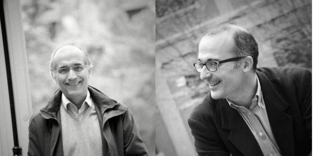 Claude Crampes et Thomas-Olivier Léautier.