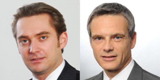 Igor de Langsdorff et Bruno Mathis