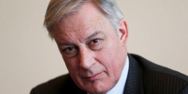Sans l'appréciation de l'euro ces derniers mois, on aurait eu un demi point d'inflation supplémentaire, a expliqué le gouverneur de la BdF. Reuters