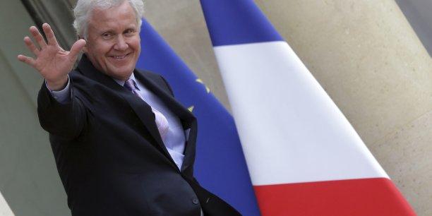 Le dialogue avec François Hollande a été ouvert, amical et productif a rapporté Jeffrey Immelt à la sortie de la réunion. (Reuters)