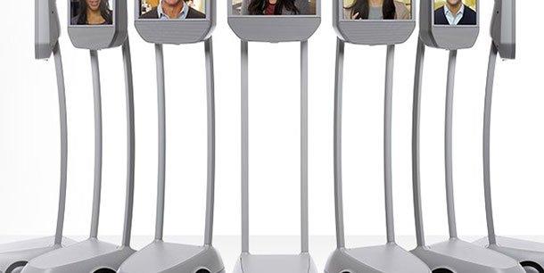 Des robots dits de téléprésence voire des avatars des salariés pourront notamment participer à desconférences ou à d'autres échanges. (Photo: Reuters)