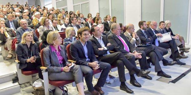 Plus de 300 personnes ont participé hier au Palais de la bourse à la soirée de lancement du nouveau site