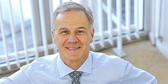 Jean-Pierre Lac, président de Lyon place financière et tertiaire