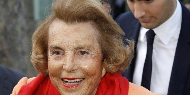 Liliane Bettencourt, femme la plus riche de France et seconde fortune de l'Hexagone, a vu sa fortune augmenter de 6,3%. | REUTERS