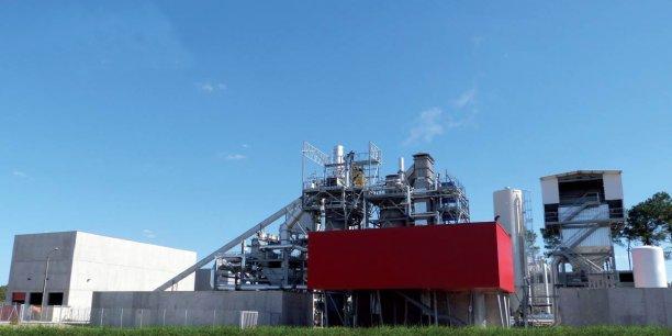 La centrale Cho Power, sur le site de Morcenx (Landes)