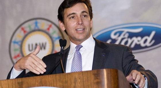 Le futur PDG de Ford, Mark Fields