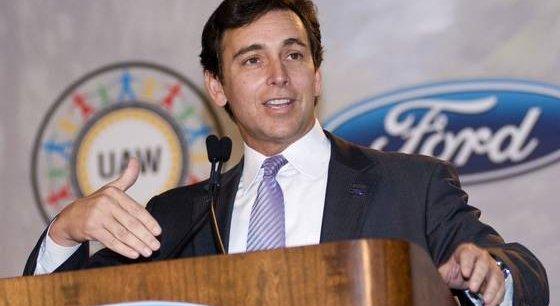 Le nouveau patron de Ford, Mark Fields