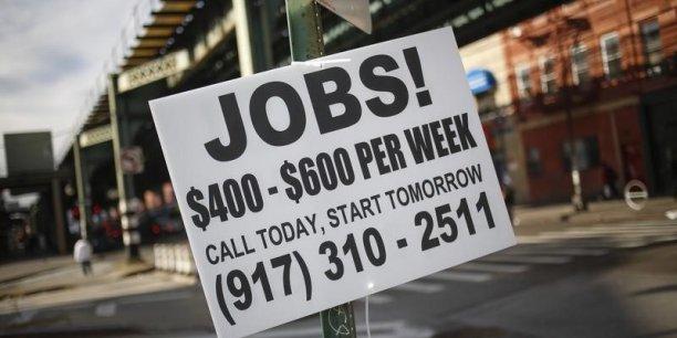Aux Etats-Unis, les chômeurs sont désormais 9,8 millions. (Photo : Reuters)