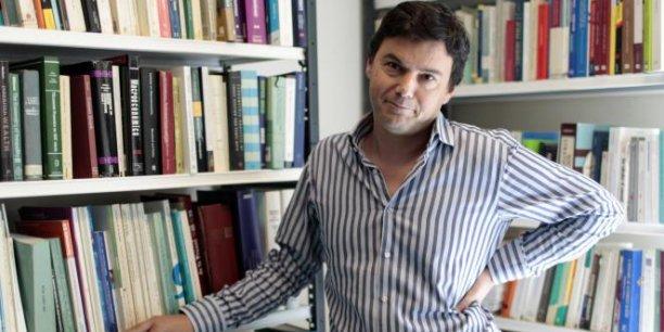 Le dernier livre de Thomas Piketty, le Capital au XXIe siècle, vient d'être publié aux Etats-Unis, où il remporte un franc succès. / DR