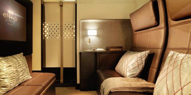 The Residence, un petit studio dans les A380 d'Etihad