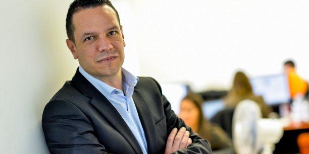 Julien Parrou, président de Bordeaux Entrepreneurs