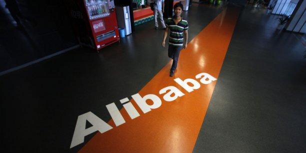 Selon les estimations, Alibaba se classerait 9ème des plus importantes introductions en Bourse de l'histoire avec 15 milliards de dollars levés. (Photo : Reuters)