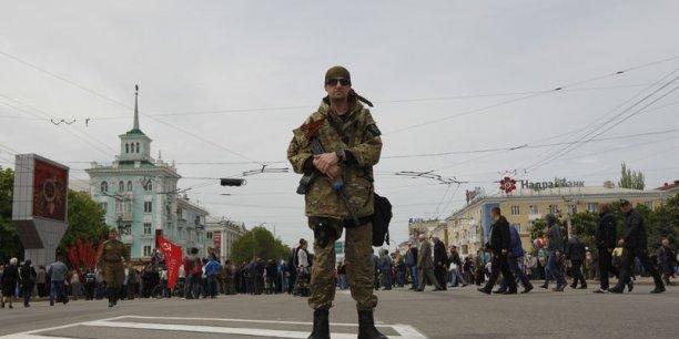 A l'Est de l'Ukraine, la région de Donietsk  est le théâtre d'affrontements entre les forces armées de Kiev et des séparatistes pro-russes. (Photo Reuters)