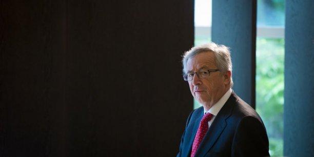 Jean-Claude Juncker veut se débarrasser de son image de candidat d'Angela Merkel