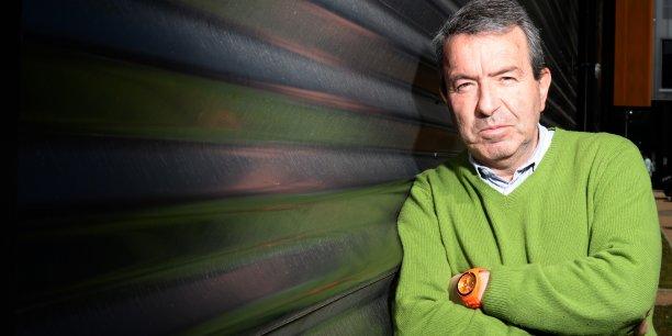 Tanguy Selo, ancien directeur d'Imaginove @Laurent Cerino/Acteurs de l'économie